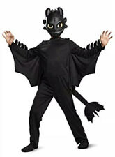 NEW How To Train Your Dragon Toothless Boy's Sz 3T-4T Halloween Costume