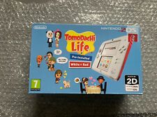 TOMODACHI LIFE NINTENDO 2DS CONSOLE BOX & MANUAL ONLY - COLLECTORS?