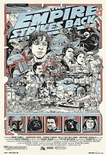 STAR WARS TYLER STOUT POSTER GEORGE LUCAS MARK HAMILL HARRISON FORD FISHER