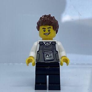 Lego Minifigure Security Officer cty1135 City 60245 Mini Figure