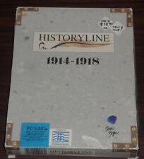 "PC Game. Historyline (The Great War) 1914-1918. Big Box. 5.25"" Floppy Disk Retro"