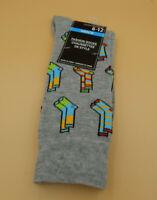 Mens Gray Novelty socks size 6-12-socks