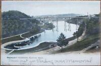Clinton, MA 1906 Rotograph Postcard: Wachusett Reservoir - Massachusetts Mass