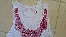 Esprit Viscose Sleeveless Tops for Women