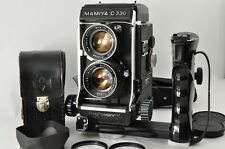 Exc++++ MAMIYA C330 Professional 80mm f/2.8 TLR Grip Hood from Japan #2158