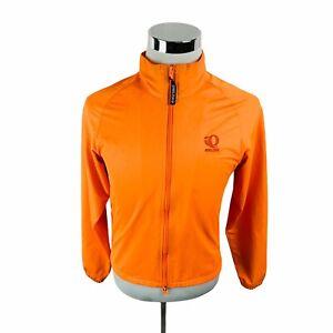 Pearl Izumi Orange Long Sleeve Lightweight Cycling Jacket Women's Medium M
