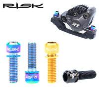 4Pcs Titanium Ti M6x18/20mm Hex Socket Washer round Head Bolt For Bike Stem