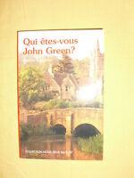 ANDREA CAMEROS Qui êtes-vous John Green ? Roman Collection Nous Deux N°174