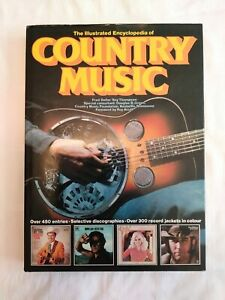 Vintage 1977 Fred Dellar The Illustrated Encyclopedia of COUNTRY MUSIC Book