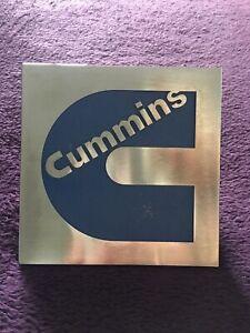Cummins Original Large Truck Badge
