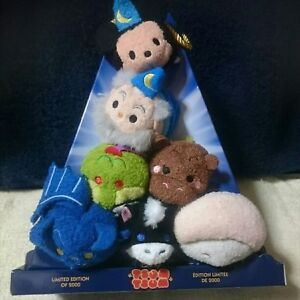D23 EXPO 2015 Set of 2 Disney TSUM Fantasia Sorcerer And Steamboat Le of 2000
