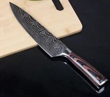 "Stainless Steel 8"" Professional Chef Knife Japanese Damascus New with Magnet Box"
