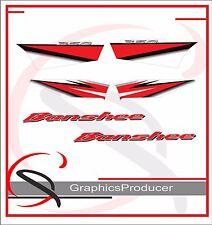 Yamaha Banshee Decals Stickers Reproduction Full Set Year 2005 Custom Design