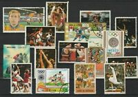 Umm Al Qiwain Various Sports including Olympics Stamps Ref 24884