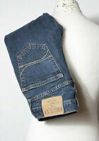 "Hollister Men's Jeans Blue size W28"" L30"" Button Fly Straight Leg"