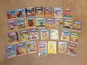 He-Man MOTU Mattel Masters Of The Universe Job lot 5 of 7 Mini Comics 80 Retro