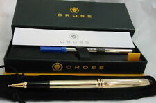 SALE! Cross Townsend 10 KT Gold Filled Rollerball Pen+23k Appts #705 USA MINT