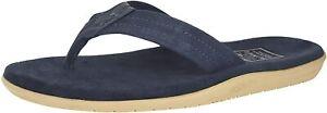 Men's Shoes Island Slipper ULTIMATE SUEDE Flip Flop Sandals PT203SL NAVY / NAVY
