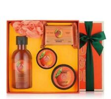 Body Shop Mango Shower Gel, Body Butter & Scrub, Soap & Bath Lily Gift Set Xmas