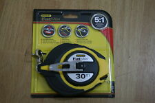 Brand New STANLEY FatMax 30m tape measure 34-138