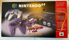 Nintendo 64 W/ Atomic Purple Contoller [Box Only] N64. Nice Condition