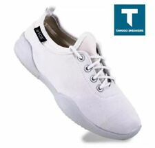 Euny Womens Fashion Sneakers Rubber Shoes (WHITE) - Size 38