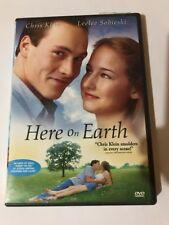 Here On Earth (2000 Dvd) Widescreen Canadian Chris Klein Leelee Sobieski