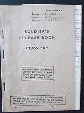 British Issued Militaria Documents & Maps