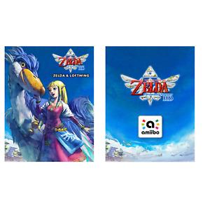 The Legend of Zelda: Skyward Sword HD amiibo Figure Zelda & Loftwing NFC Card NA