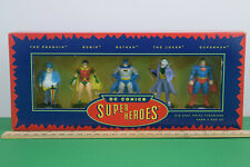 Dc Comics Super Heroes Die Cast Metal Figurines Nib