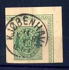 DENMARK - DANIMARCA - 1879 - Intero postale. Frammento di cart.post. E1064