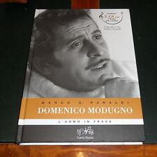 DOMENICO MODUGNO: L'UOMO IN FRACK *Libro + 2 CD* Nuovo e Perfetto