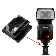 """1/4"""" Schraube Loch zu Blitzschuh Adapter für Sony Minolta Blitz Leuchtenstativ"""