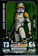Star Wars Force Attax Series 3 Card #213 Clone Commander Cody
