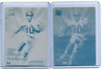 (2) ANDRE RISON 1/1 1994 PACIFIC CROWN PRINTING PLATE ATLANTA FALCONS LOT 1 OF 1