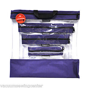 See Your Stuff The Clear Storage Bag Purple