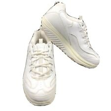Sketchers shape ups women's 11 US White Work Out Sneaker Metabolize