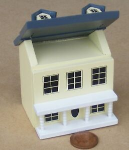 1:12 Scale Cream Painted Wood Toy Deluxe Dolls House Nursery Accessory 974
