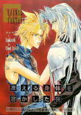 Final Fantasy 7 VII Doujinshi Comic Book Sephiroth x Cloud Vincent Night My Froz