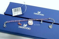 Swarovski 1120603 Hello Kitty Sweet Bead Bracelet Cupcake Crystal Authentic MIB