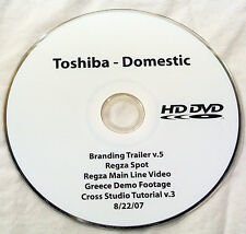HDDVD Retail Demo Trailer Disc Toshiba 2007 HD-DVD