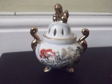 Vintage Ritz China Hand Painted Incense Holder
