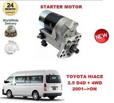 FOR TOYOTA HILUX BUS 2.5 D4D + 4WD 2001 >ON DENSO ORIGINAL STARTER MOTOR OE