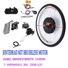 "28"" E-Bike Conversion Kit LCD Hinterrad Elektro-Fahrrad Umbausatz 250W 36V"