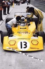 9x6 Photograph  Divina Galica , F1 Surtees TS16  British GP Brands Hatch 1976