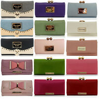 AN175 Ladies New LYDC Anna Smith With Square Stud Pattern Clutch Wallet Purse