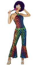 Déguisement Femme Disco M/L 40/42 Costume Combinaison Adulte Années 1980