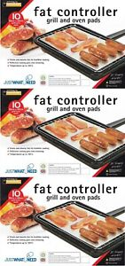 30 x Fat Controller Grill And Oven Cooking Pads Absorbs Fat Trapper Toastabags