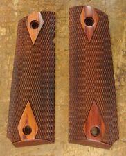 Colt Model 1911 factory original new Diamond Exotic Wood grips