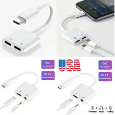 Type C USB C Cable Adapter Charge Headphone 3.5mm Jack For Samsung Note 10 Plus